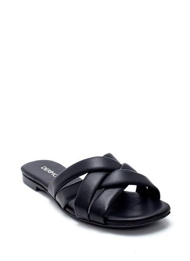 Derimod Kadın Terlik (33601) Casual Siyah